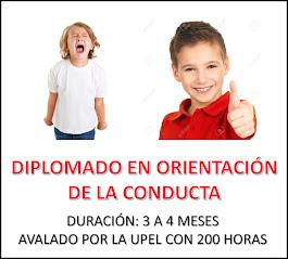 DIPLOMADO EN ORIENTACIÓN DE LA CONDUCTA