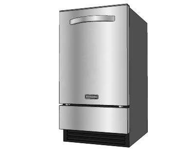 Apartment appliance for Apartment size ice maker