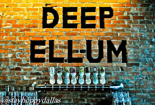 Deep Ellum Taproom Tap Wall 2