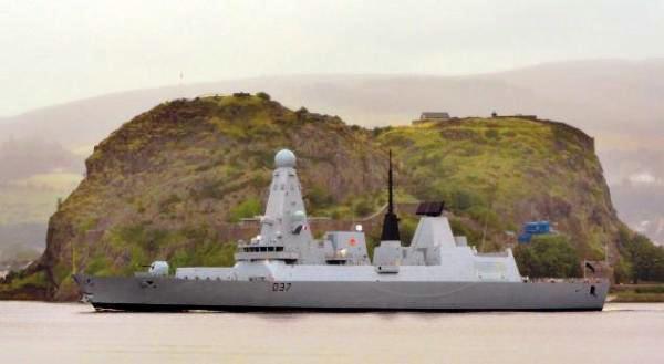 Kapal destroyer Angkatan Laut Inggris