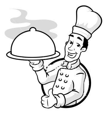master chef coloring pages - photo#2