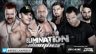 Watch WWE Elimination Chamber 2013 Ryback, Sheamus, John Cena vs Shield Match Online Free