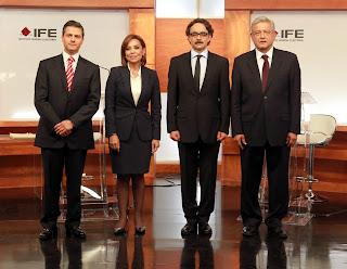 Präsidentenkandidaten für Mexiko 2012