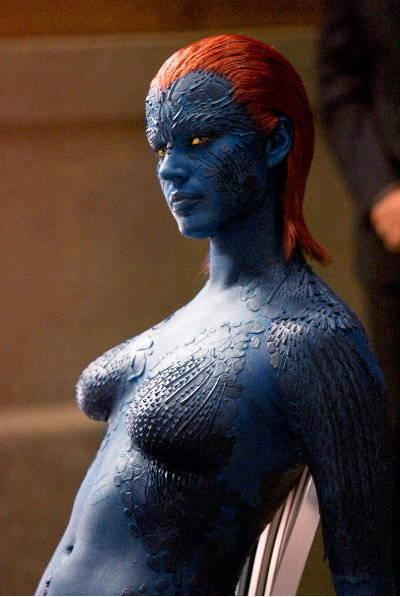 Rebecca Romijn as Mystique in X-Men: The Last Stand