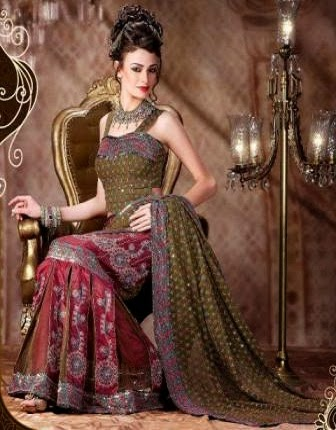 bridal dresses in pakistan 2013