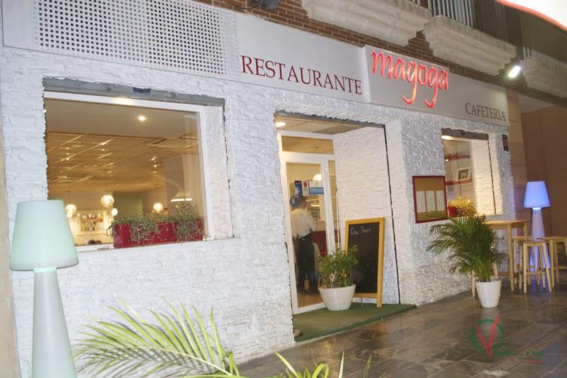 Fachada del restaurante cafetería Magoga de Cartagena