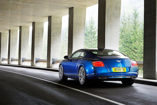 2012 Bentley Continental GT Speed back Exterior