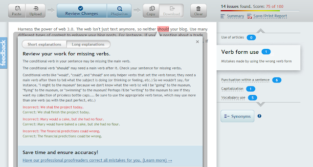 proofread online