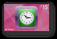 Tiempo de entrega de códigos iTunes Gift Cards