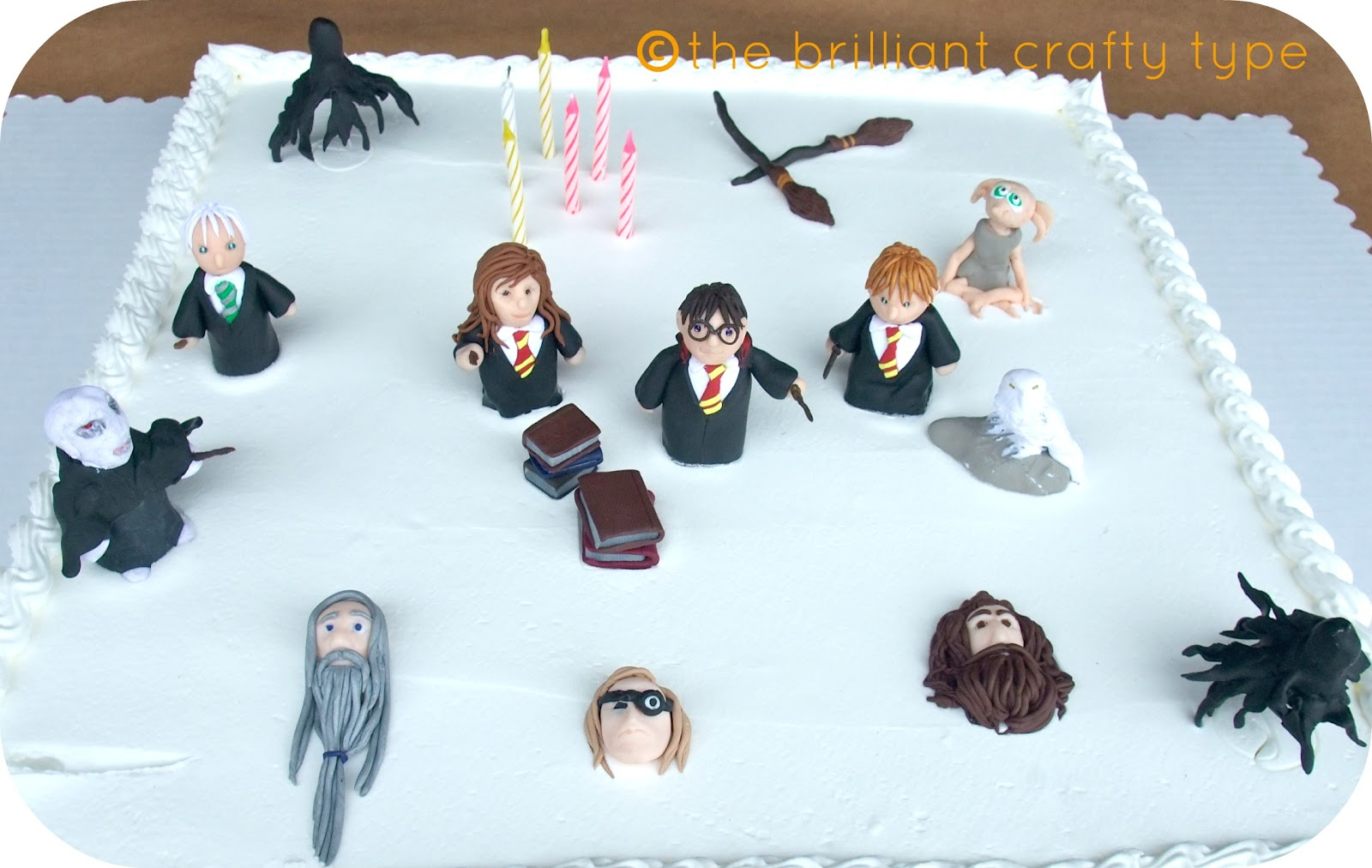 Harry Potter Craft Ideas For Kids Part - 34: A Harry Potter Birthday Reveal. April 30, 2012