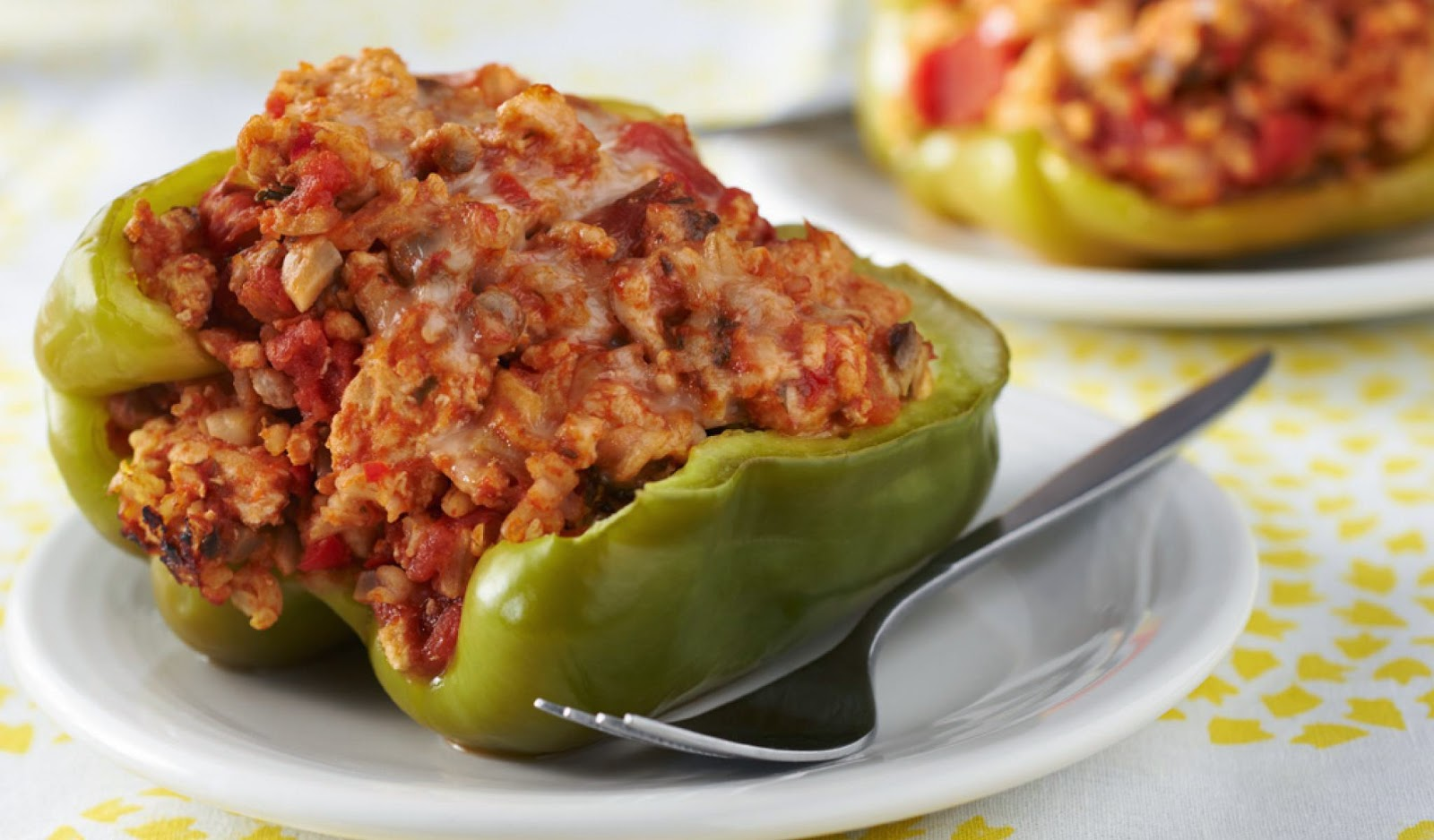 Turning 60...: Anna Sultana's Stuffed Peppers, Maltese Style