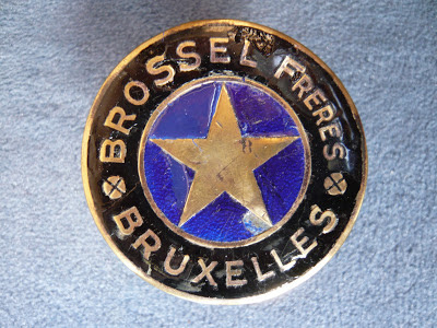 BROSSEL radiator emblem badge