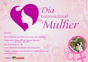 Cartaz/convite/Dia Internacional da Mulher