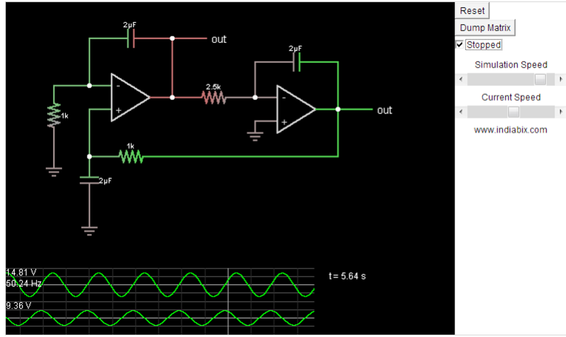 simple pure sine wave inverter circuit watt pure sine the output across the right hand side opamp of the sine generator is to be connected across the input of the second circuit for initializing the proposed