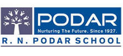 R.N. Podar School Santa Cruz West Logo