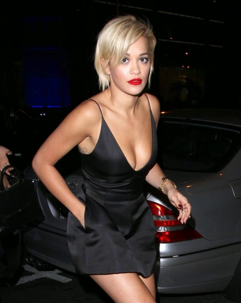 Rita Ora Cleavage Nude Photos 47