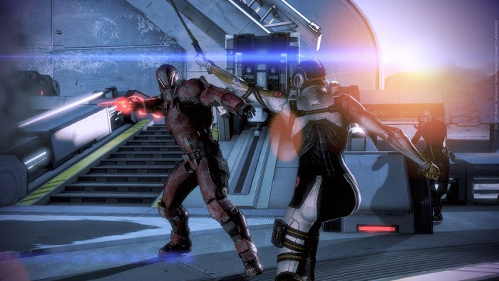 Screen Shot Of Mass Effect 3 (2012) Full PC Game Free Download At worldfree4u.com