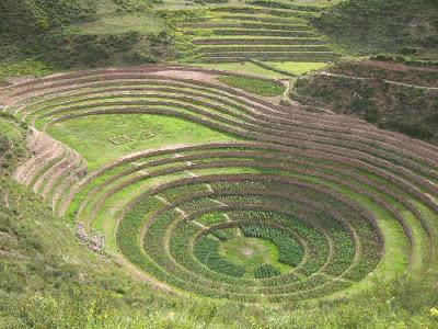Misteri Lengkungan Unik Cara Bertani Suku Inca