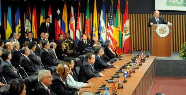 Organizacion internacional y participacion en la misma