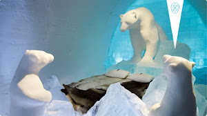 ICEHOTEL-World's largest hotel made of ice and snow!
