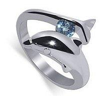 dolphin rings on engagement and rings dolphin engagement rings - Dolphin Wedding Rings