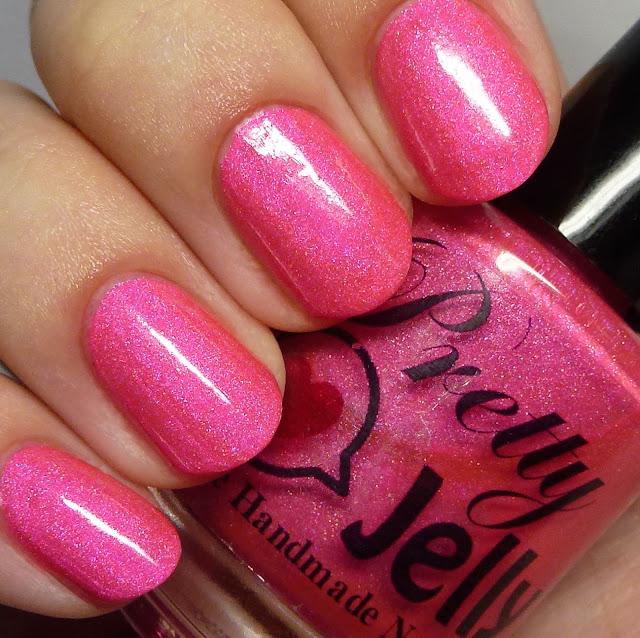Pretty Jelly Nail Polish Pink Eraser
