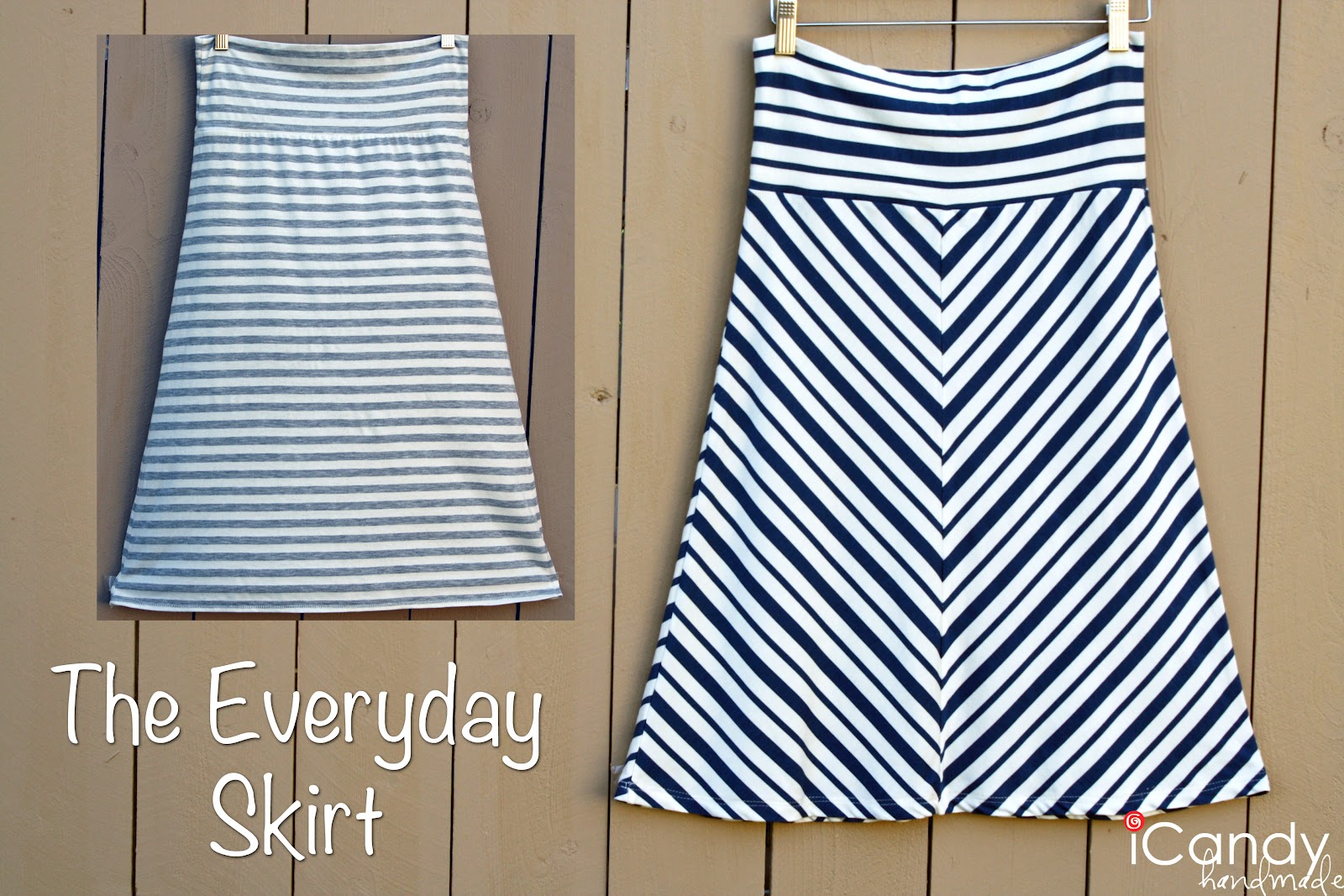 Knitting Skirt Tutorial : Everyday basics the skirt icandy handmade
