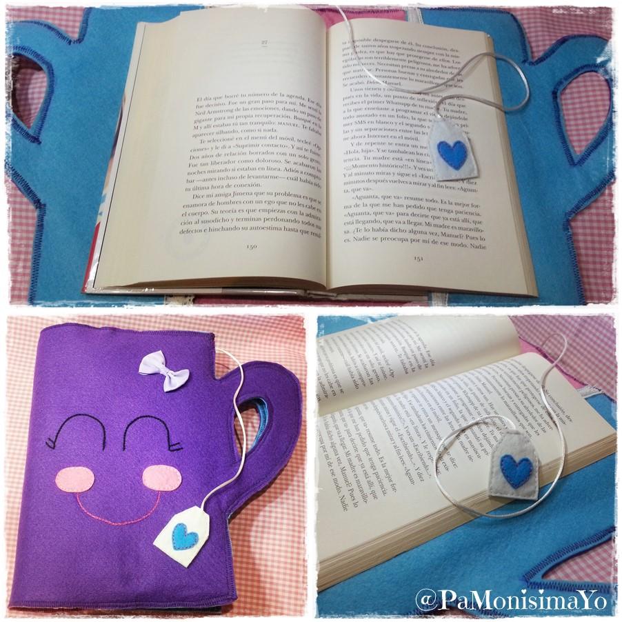 Funda libro taza de té @pamonisimayo