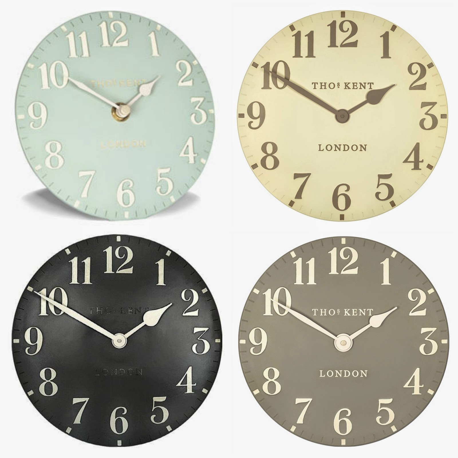 The Ruby Orchard Tick Tock Thomas Kent Stylish Wall Clocks