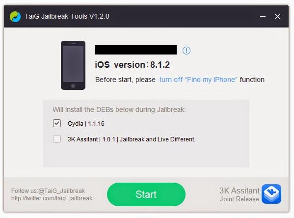 iOS 8.0 සිට iOS 8.2 beta දක්වා ඇති සියලු ම iOS අනුවාද Untethered Jailbreak කරමු [Updated]