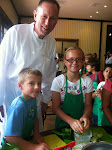 Chef Lee with Kids From Farm Camp 2013