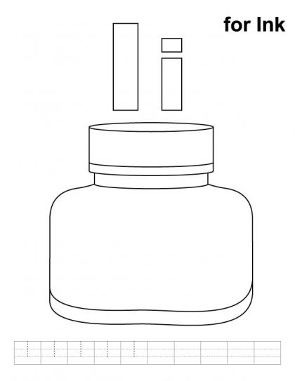 letter ii coloring pages - photo#21