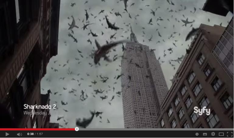 Video Trailer Filem Ikan Jerung Menyerang New York City Giler Betul