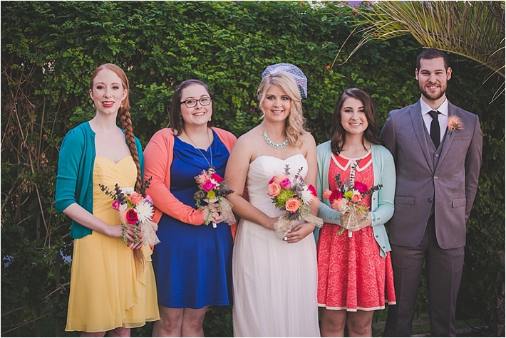 Colorful And Fun Palm Springs Wedding At The Saguaro