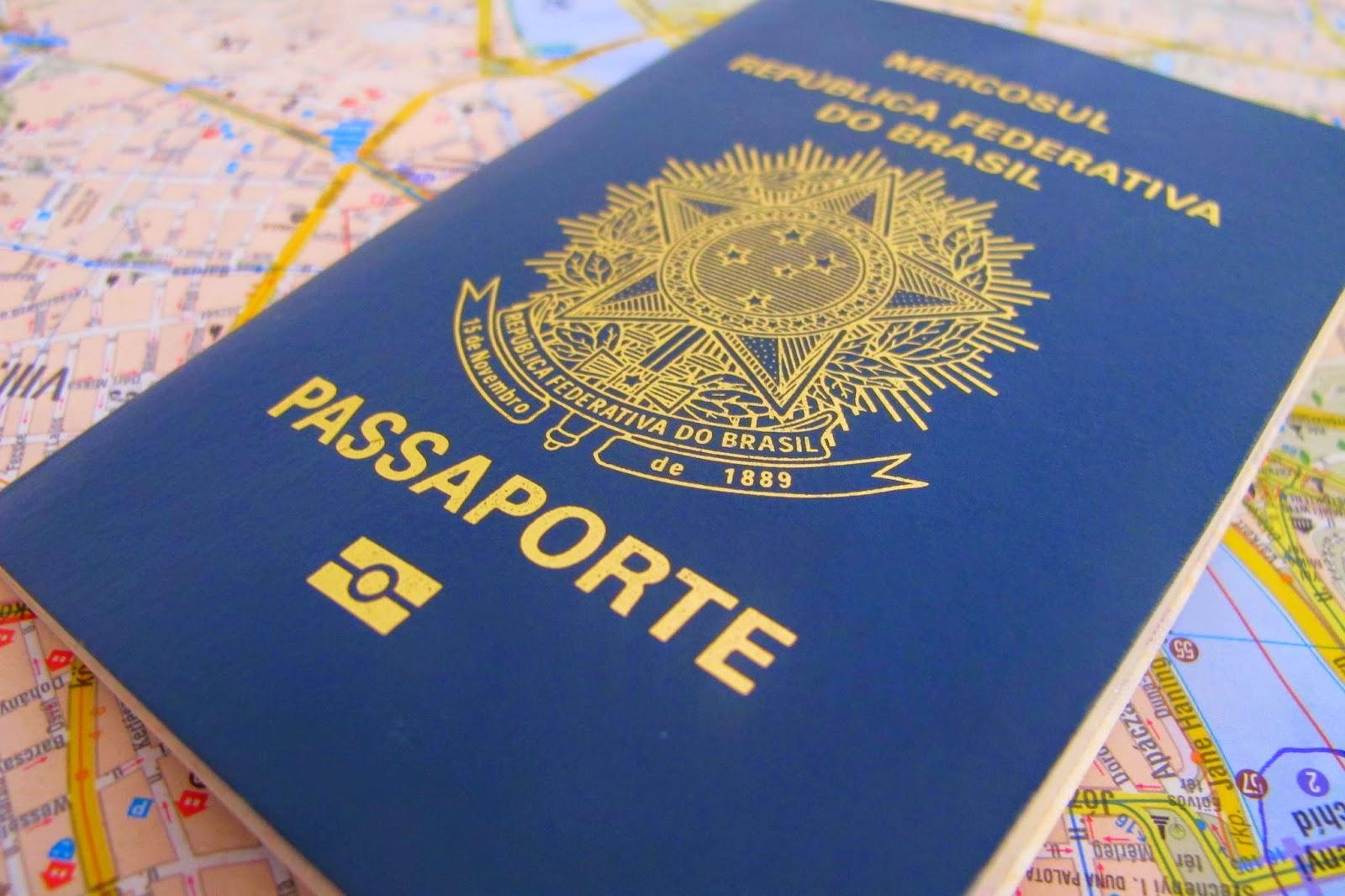 Como tirar vistos e passaportes - Informações