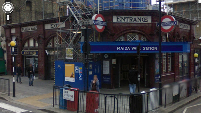 Maida Vale station on the Bakerloo line of the London Underground