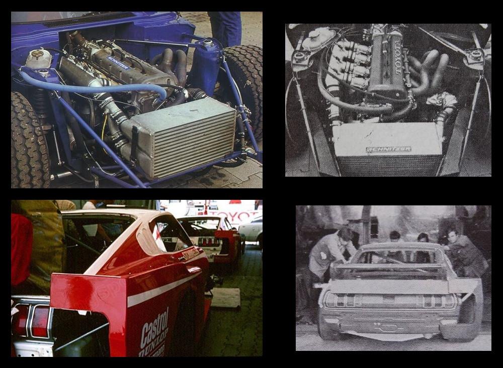 Schnitzer, Toyota Celica I, sportowe japońskie coupe, z napędem na tył, dawna motoryzacja, nostalgic, stary model, fotki, LB turbo