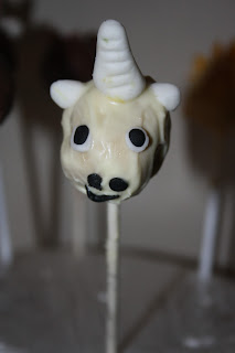 unicorn cake pop