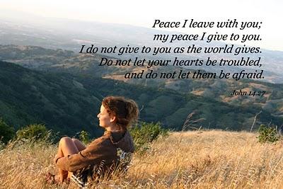Peace of God Scripture