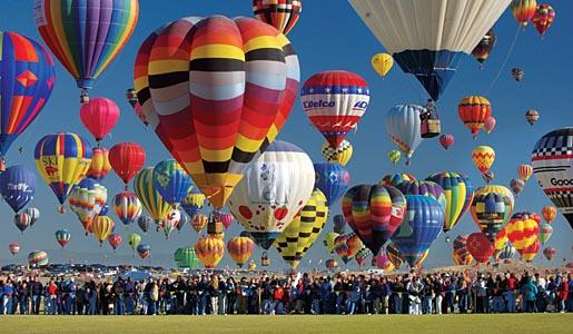 Albuquerque International Balloon Fiesta - Διεθνές Φεστιβάλ Αερόστατων
