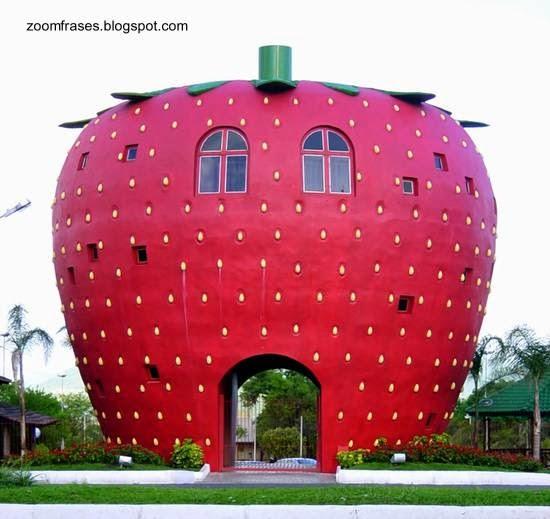 Casa en la capital nacional de la frutilla en Brasil