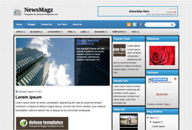 NewsMagz Blogger Template