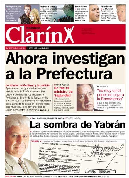 Diario clarin de hoy online dating