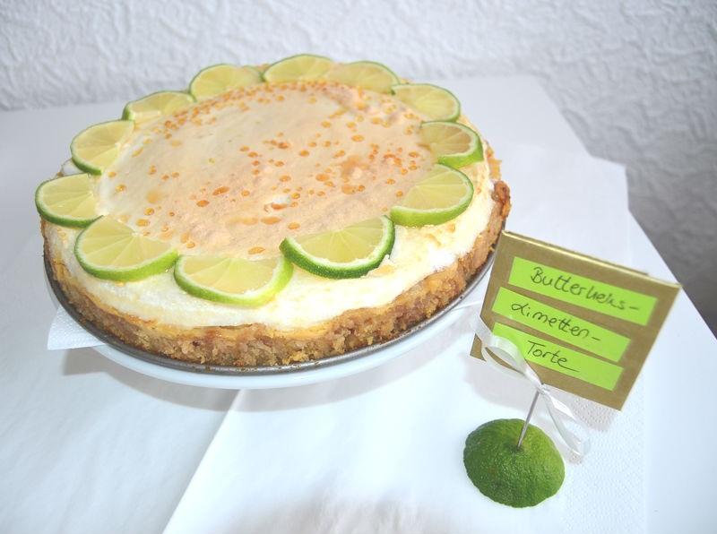 Butterkeks Limetten Torte