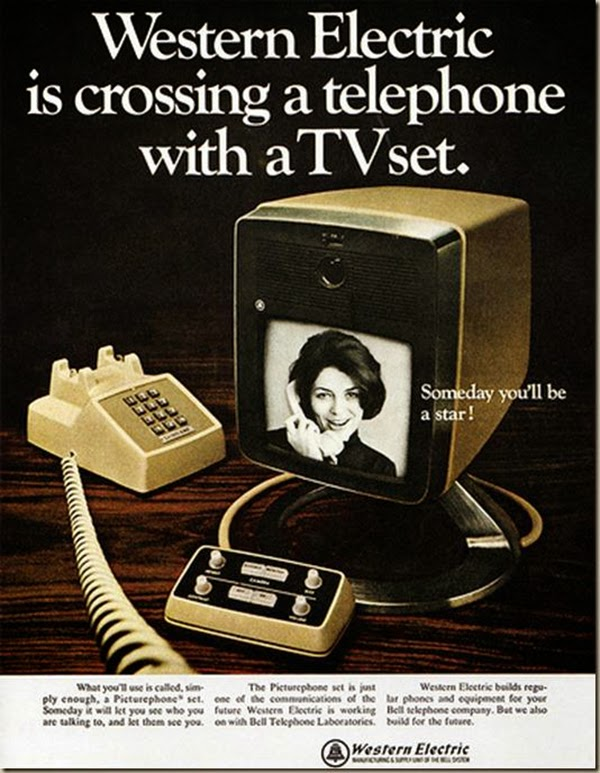 El precursor de mediados de siglo para Facetime y Skype