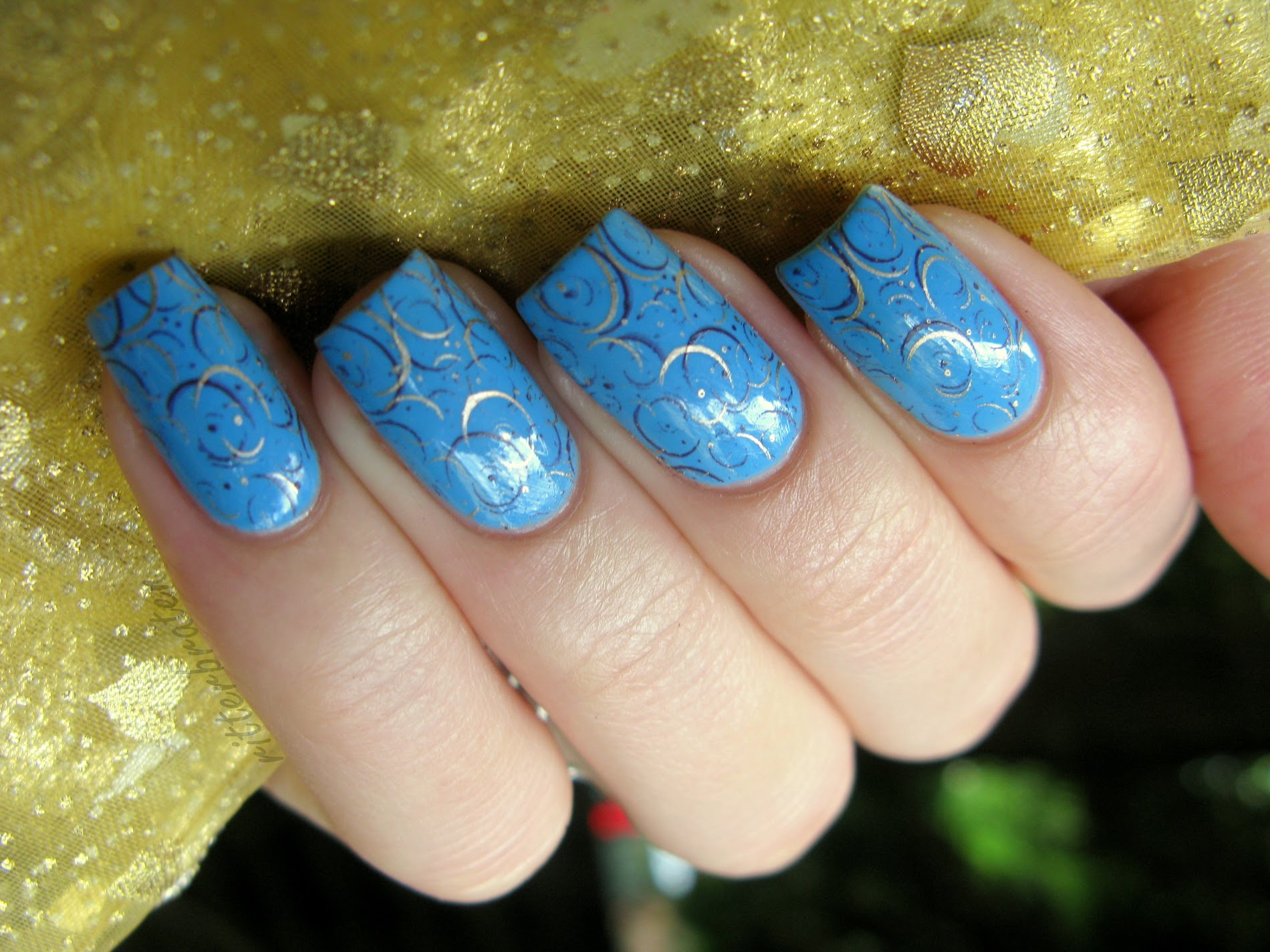oriental nails manicure arabic moroccan