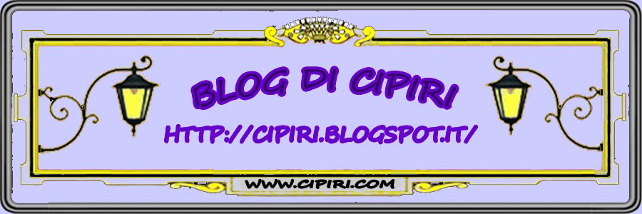 BLOG DI CIPIRI