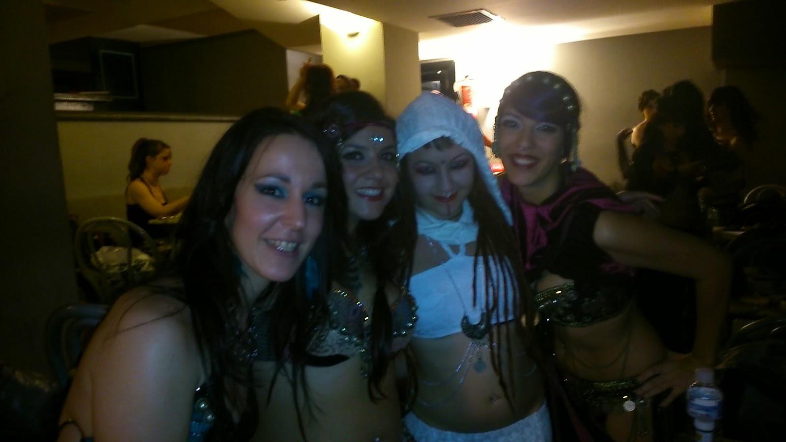 Generation Tribal Fest Backstage Delirium y Lía Clars