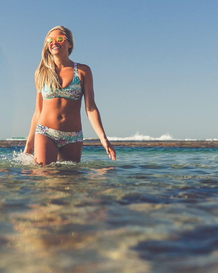 lululemon paradise grid shanti swim