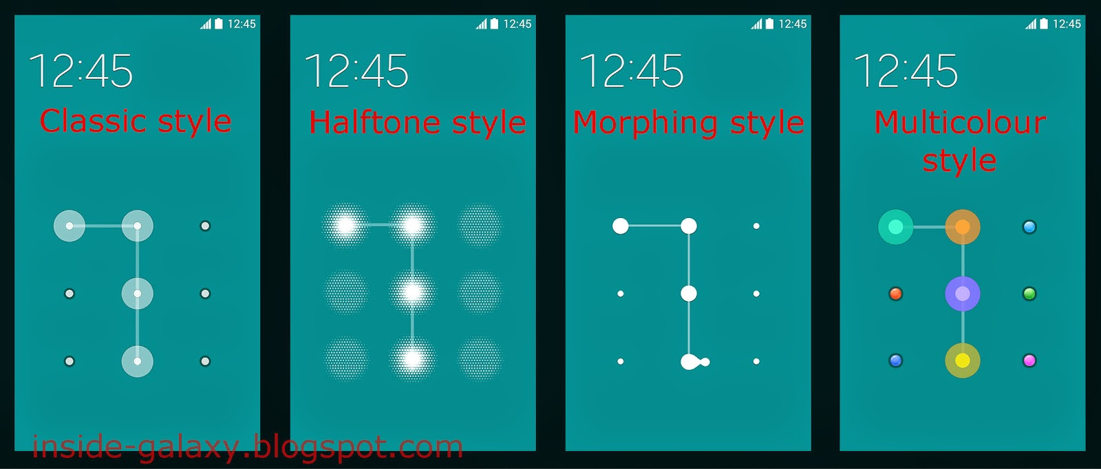 Samsung Galaxy S5: How to Change Pattern Grid Style on